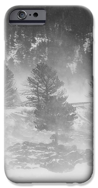 Boulder Canyon and Nederland Winter Landscape iPhone Case by James BO  Insogna