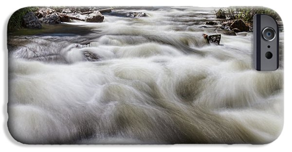 Creek iPhone Cases - Boulder Creek in Slow Mo iPhone Case by James BO  Insogna