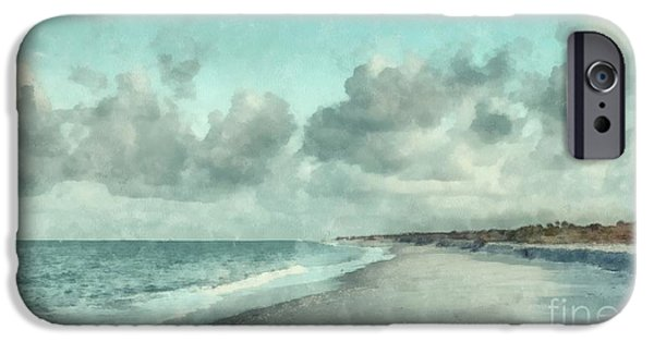 Florida House Photographs iPhone Cases - Bowman Beach Sanibel Island Florida iPhone Case by Edward Fielding