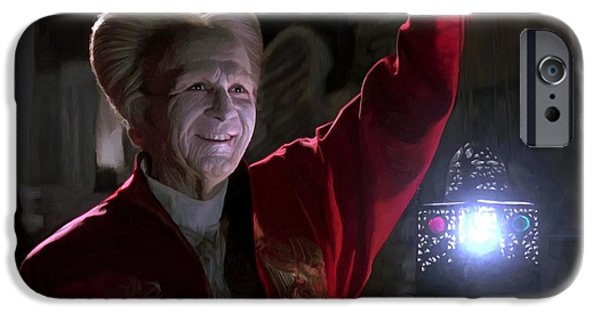 Francis Ford Coppola iPhone Cases - Bram Stokers Dracula Large Size Painting iPhone Case by Gabriel T Toro