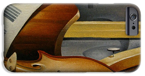 Piano iPhone Cases - Brambach and Pfretzner No 2 iPhone Case by T S Carson
