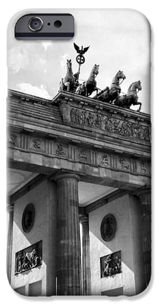 Brandenburg Gate - Berlin iPhone Case by Juergen Weiss