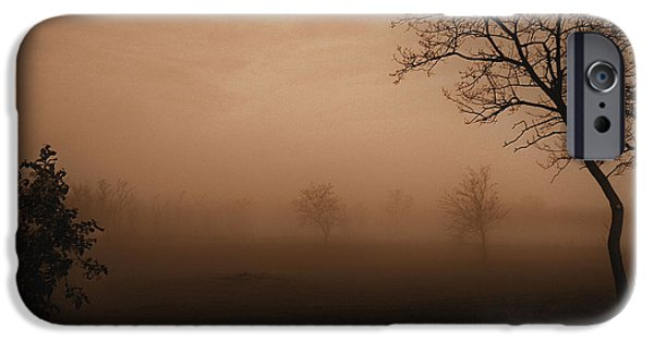 Fog Mist iPhone Cases - Break of Dawn iPhone Case by Mimulux patricia no