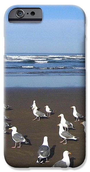 Breakfast At Cannon Beach iPhone Case by Will Borden