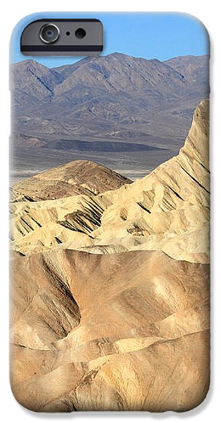 Breath taking landscape of Zabriskie point iPhone Case by Pierre Leclerc Photography