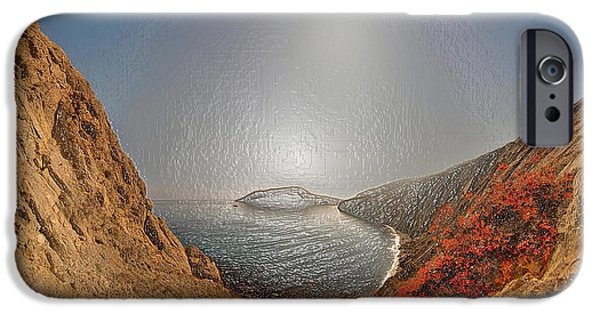 Snowy Night iPhone Cases - Breezy Island iPhone Case by Scott Mendell