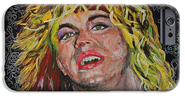 Michael iPhone Cases - Bret Michaels 80s Hair Bands Poison iPhone Case by Robert Yaeger