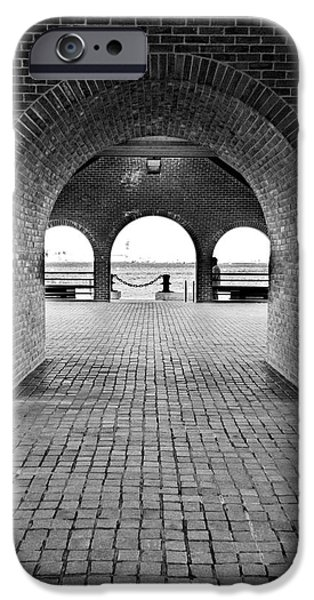 Brick Arch iPhone Case by Greg Fortier