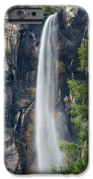 Veiled iPhone Cases - Bridal Veil Falls iPhone Case by Bill Roberts