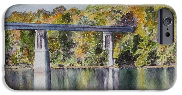 Recently Sold -  - Patsy Sharpe iPhone Cases - Bridge Over the Cumberland iPhone Case by Patsy Sharpe