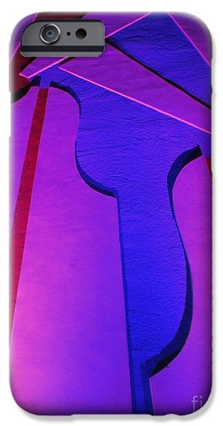 Abstract Photography Reliefs iPhone Cases - Bright Abstract iPhone Case by John Malone