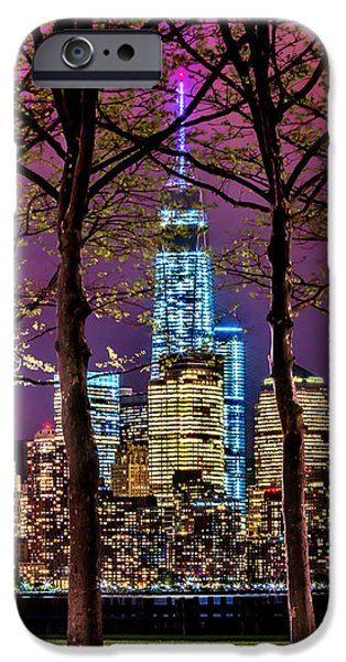 Hudson River iPhone Cases - Bright Future iPhone Case by Az Jackson