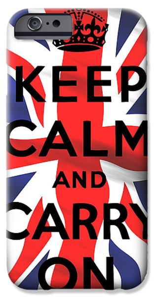 War iPhone Cases - British Classic 2 iPhone Case by Daniel Hagerman