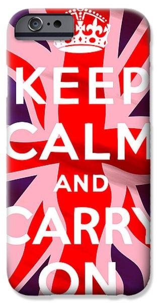 War iPhone Cases - British Classic iPhone Case by Daniel Hagerman