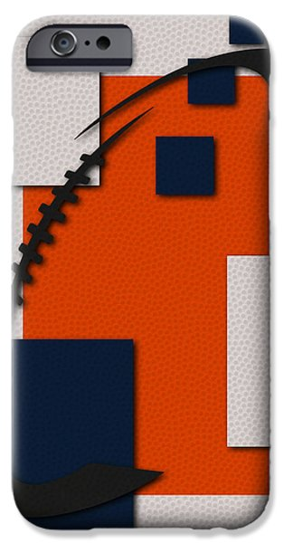 Broncos. Denver Broncos iPhone Cases - Broncos Football Art iPhone Case by Joe Hamilton