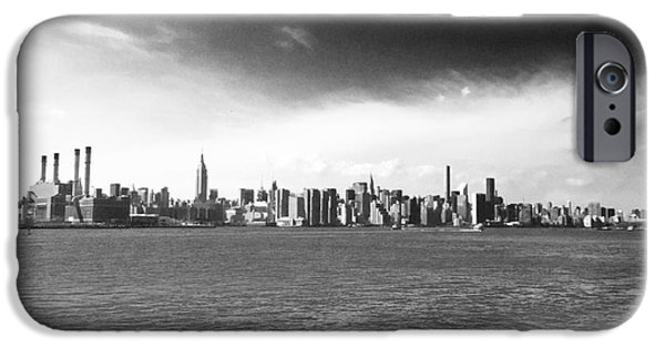 Hudson River iPhone Cases - Brooklyn View iPhone Case by P Jeff Smith