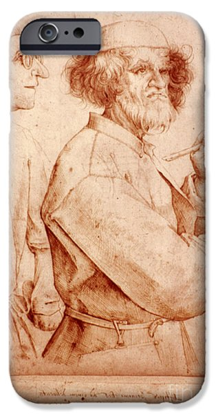 Painter Photographs iPhone Cases - Bruegel: Painter, 1565 iPhone Case by Granger