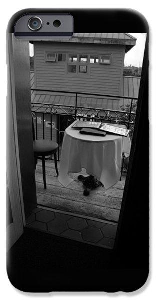 Balcony iPhone Cases - Brunch iPhone Case by Zora Jenea Studios