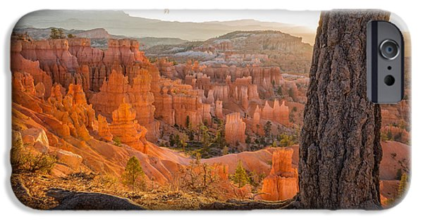 National Parks iPhone Cases - Bryce Canyon National Park Sunrise 2 - Utah iPhone Case by Brian Harig