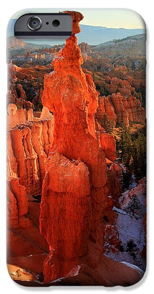 Bryce Canyon's Thor's Hammer iPhone Case by Pierre Leclerc Photography