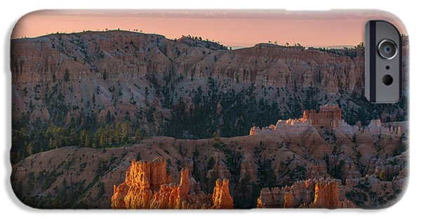 Red Rock iPhone Cases - Bryce Morning iPhone Case by Joseph Smith