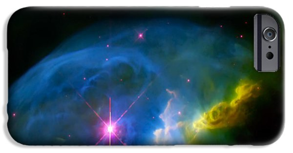 The Hatchery iPhone Cases - Bubble Nebula iPhone Case by The  Vault - Jennifer Rondinelli Reilly