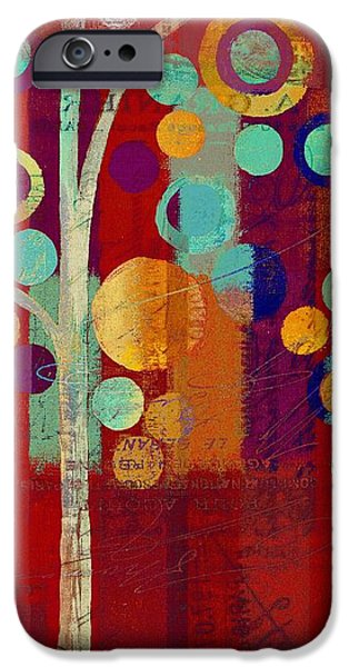 Hotel-room iPhone Cases - Bubble Tree - 85rc13-j678888 iPhone Case by Variance Collections