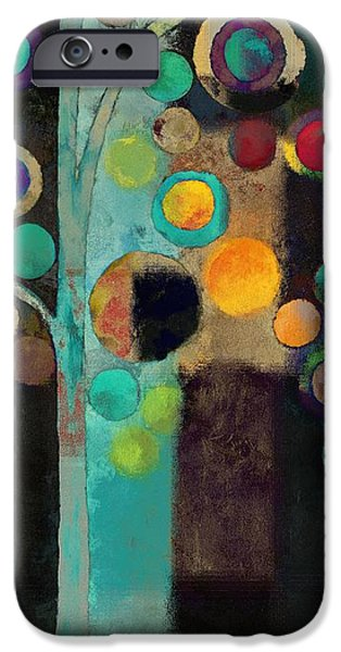 """""""variance Collections"""" iPhone Cases - Bubble Tree - j122129155rv11 iPhone Case by Variance Collections"""