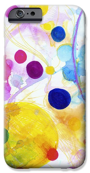 Nature Abstracts iPhone Cases - Bubbles of Colour iPhone Case by Zeva Mirankar