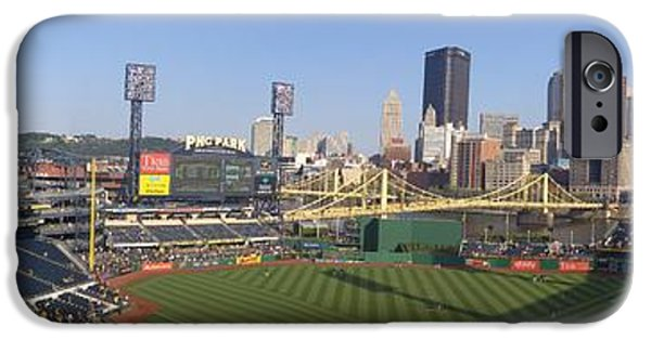 Baseball Stadiums iPhone Cases - BuccoNation iPhone Case by Shelley Smith