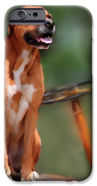Machinery Mixed Media iPhone Cases - Buck iPhone Case by Colleen Taylor