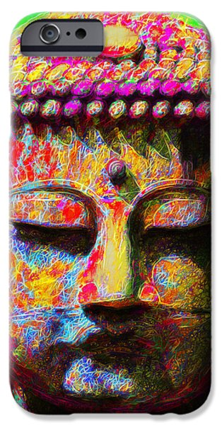 Buddha 20130130m100 iPhone Case by Wingsdomain Art and Photography