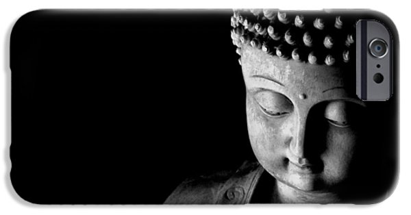 Inner Peace iPhone Cases - Buddha iPhone Case by Anthony Citro