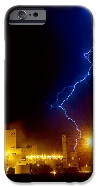 Budweiser Lightning Strike iPhone Case by James BO  Insogna