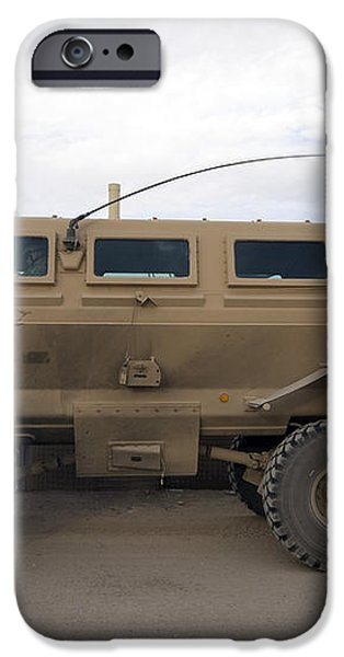 Buffalo Mine Protected Vehicle iPhone Case by Terry Moore