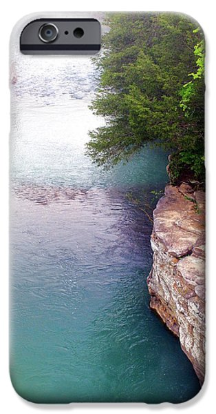 Arkansas iPhone Cases - Buffalo River Mist iPhone Case by Marty Koch