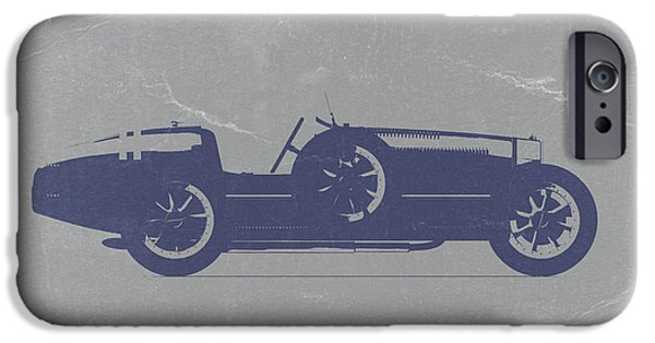Best Sellers -  - Old Cars iPhone Cases - BUGATTI Type 35 iPhone Case by Naxart Studio