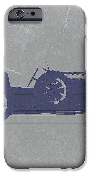 BUGATTI Type 35 iPhone Case by Naxart Studio