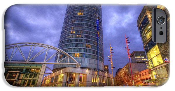 Recently Sold -  - Disc iPhone Cases - BullRing Centre iPhone Case by Yhun Suarez