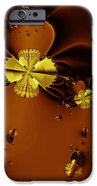 Bumble Beez Over Chocolate Lake . Square . S19 iPhone Case by Wingsdomain Art and Photography