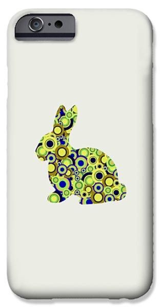 Bold iPhone Cases - Bunny - Animal Art iPhone Case by Anastasiya Malakhova