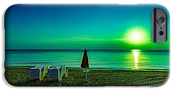 Morning iPhone Cases - Buongiorno iPhone Case by Randy Scherkenbach