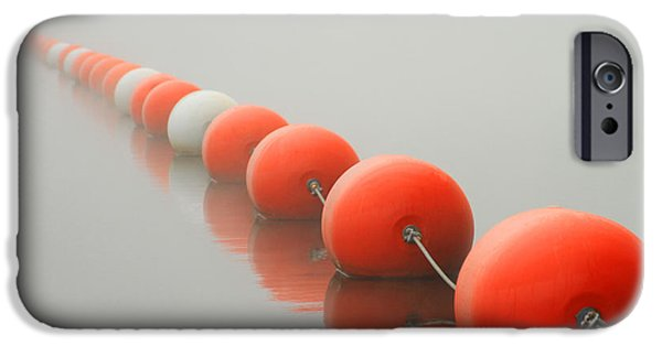 Bouys iPhone Cases - Buoy Line iPhone Case by Karol  Livote