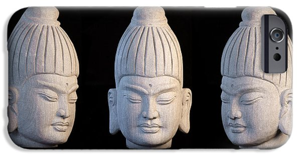 Snake Sculptures iPhone Cases - Burmese 31 iPhone Case by Terrell Kaucher