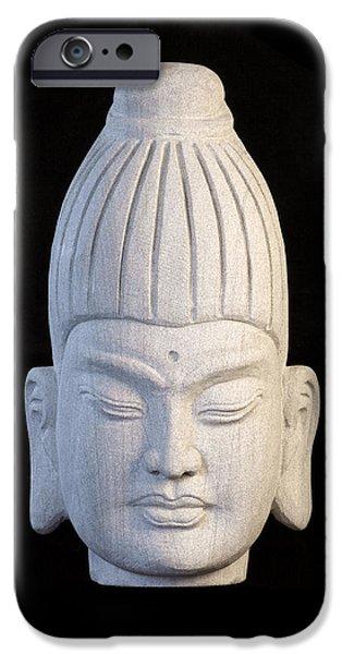 Snake Sculptures iPhone Cases - Burmese C iPhone Case by Terrell Kaucher