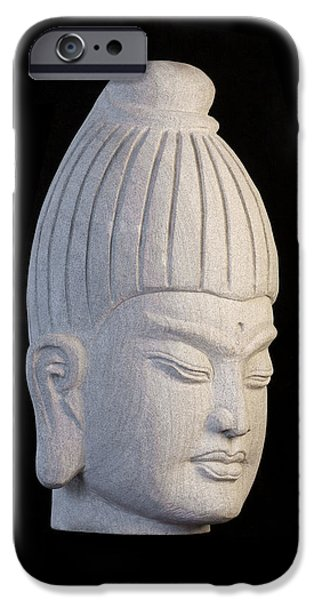 Snake Sculptures iPhone Cases - Burmese R iPhone Case by Terrell Kaucher