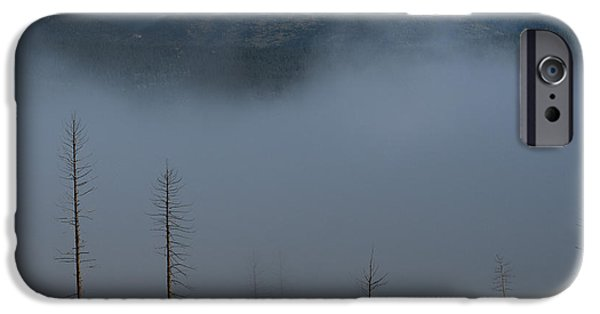 Wildfire iPhone Cases - Burned iPhone Case by Noah Bryant