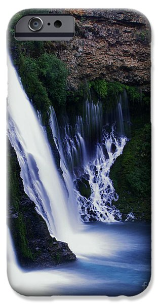 Poetic iPhone Cases - Burney Blues iPhone Case by Peter Piatt