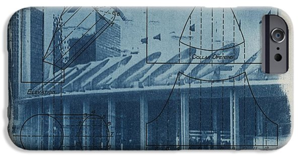 Process iPhone Cases - Busch Stadium iPhone Case by Jane Linders