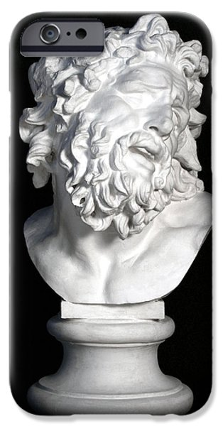 Bust Sculptures iPhone Cases - Bust of Laocoon iPhone Case by Andrea Felice